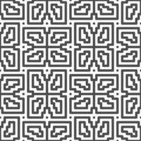 Abstract seamless rotated square zigzag shapes pattern. Abstract geometric pattern for various design purposes. vector