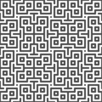 Patrón de formas de zigzag cuadrado centrado transparente abstracto. patrón geométrico abstracto con fines de diseño. vector