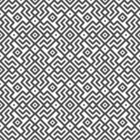 Abstract seamless rotated zigzag line and square shapes pattern. Abstract geometric pattern for various design purposes. vector