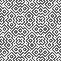 Abstract seamless symmetrical cross and square shapes pattern. Abstract geometric pattern for various design purposes. vector