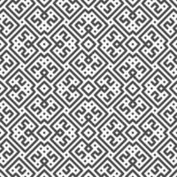 Abstract seamless symmetrical line, dot, square shapes pattern. Abstract geometric pattern for various design purposes. vector