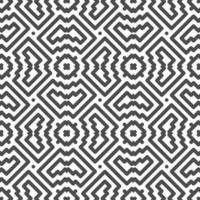 Abstract seamless symmetrical square and zigzag shapes pattern. Abstract geometric pattern for various design purposes. vector