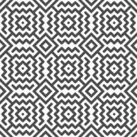Abstract seamless zigzag line and square shapes pattern. Abstract geometric pattern for design purposes. vector