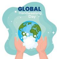 banner del día mundial del lavado de manos