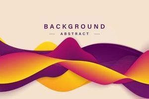 Liquid color background design. Fluid gradient shapes composition. Eps10 vector.