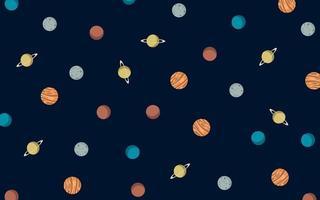 fondo colorido del espacio del vector