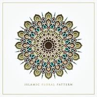 Islamic Floral Pattern vector design for background, greeting card