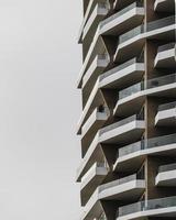 Apartment buildings in Miraflores, Lima