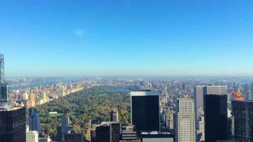Skyline von New York und Central Park