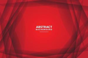 red abstract background design vector