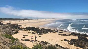 Pedrogao Beach in Portugal