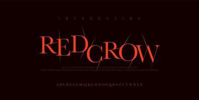 Horror scary movie alphabet font. Typography broken design for halloween logo game fonts. vector illustration