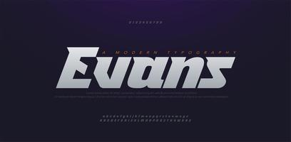 Sport Modern Future bold, italic Alphabet Font. Typography urban style fonts for technology, digital, movie logo bold and italic style. vector illustration