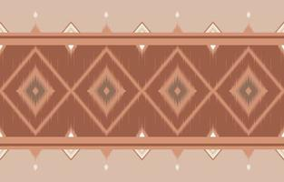 abstract horizontal ethnic oriental ikat pattern traditional design vector