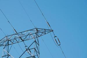 Electricity tower for electricity supply