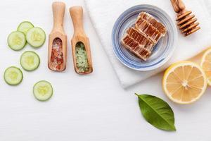 Organic skincare items