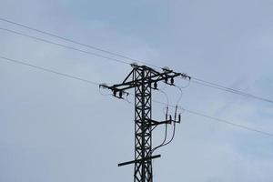 torre de electricidad para suministro de electricidad