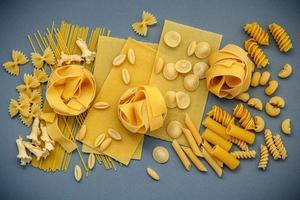 Assorted dried pastas