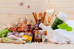 Aromatherapy spa items