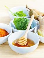 Natural herbs and honey
