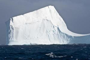 Tabular iceberg in Antarctica photo