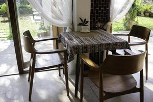Modern coffee shop interior furniture