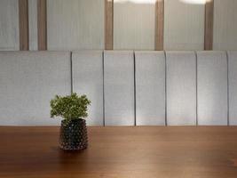 mesa de espacio libre con planta verde