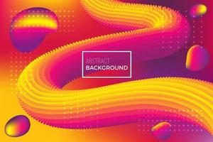 colorful modern motion fluid background vector