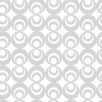 Seamless geometric Circle elements  Monochrome vector pattern