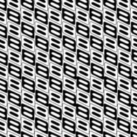 Vector Seamless Black And White Irregular Rounded Lines  Abstract Background Pattern vector