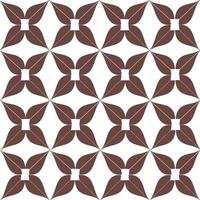 Flat geometric flowers pattern vector graphic illustrated wallpaper.