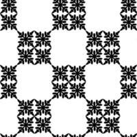 Inca crosses seamless pattern. Ethnic ornament. Folk background. Geometric wallpaper. Tribal motif. Ancient mosaic. Grid image. Digital paper, web design, textile print, abstract. Vector artwork.