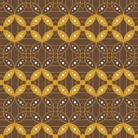 diseño de patrón floral decorativo batik para impresión minorista y moda vector