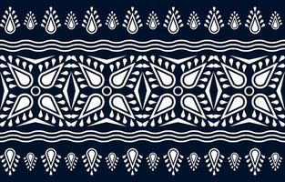 diseño tradicional de patrón étnico geométrico para fondo, alfombra, papel tapiz, ropa, envoltura, batik, tela, pareo vector