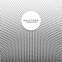 Halftone fade gradient background vector