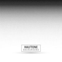 Grey abstract halftone background vector