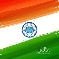 indian flag concept background vector