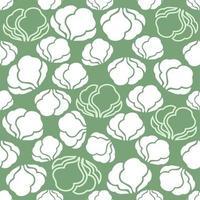 fondo transparente de patrón vegetal