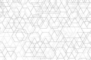 Patrón geométrico abstracto de fondo de decoración de diseño de línea mínima negra. vector de ilustración