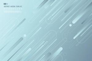 Plantilla de diseño de línea abstracta de fondo de tecnología. vector de ilustración