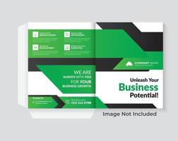 diseño de portada diseño creativo del informe anual de la empresa. vector