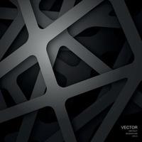 fondo en cuadrícula abstracta gris. capas con una sombra. vector