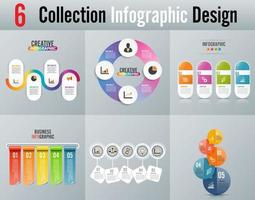 Infographic design vector and marketing icons. Can be used for workflow layout, diagram, annual report, web design. Business concept with 4 and 5 options, steps or processes.