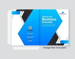 carpeta de negocios para el diseño de archivos vector