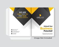 Diseño de portada para presentaciones. vector