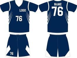 maquetas de diseño personalizado de uniforme de baloncesto vector