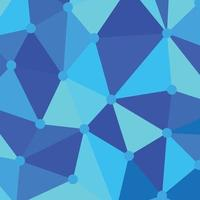 blue geometric pattern perfect for presentation background vector