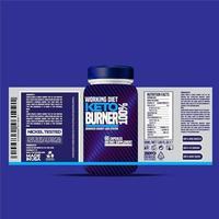 Bottle label, Package template design, Label design, mock up design label template vector