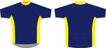 maillot de ciclismo con diseños sublimados vector