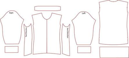 diseño de jersey de pelotón de manga larga para mujer vector